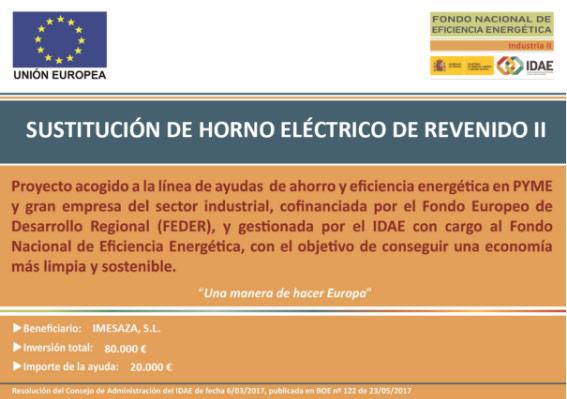 Sustitución de horno eléctrico de revenido II